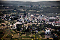 A view of Medjugorje village from the Mt. Krizevac.<br /> Medjugorje, Bosnia and Herzegovina. July 2012