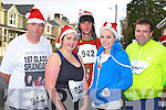 Owen McSweeney Scartaglen, Mairead O'Sullivan Cordal, Kieran McSweeney Scartaglen, Therese Moynihan Barradubh and Pat O'Connor Currow having fun at the Jingle Run in Castleisland on Sunday