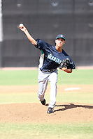 Charles Kaalekahi - Seattle Mariners - 2010 Instructional League.Photo by:  Bill Mitchell/Four Seam Images..
