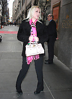 JAN 16 Alana Evans Seen After Megyn Kelly Interview