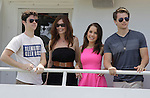 Eddie Alderson, Melissa Archer, Kristen Alderson, Chad Duell donated their time at 15th Southwest Florida Soapfest 2014 Charity Weekend - at Cruisin' and Schmoozin' on May 25, 2104 aboard the Marco Island Princess (boat), Marco Island, Florida.  (Photo by Sue Coflin/Max Photos)