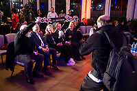 NEW YORK, NY - Monday, October 28, 2019: The United States Women's National Team hosts a reception and Q&A session after announcing new head coach Vlatko Andonovski at the Hotel Eventi, New York, NY.