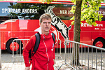 20.07.2019, Heinz-Dettmer-Stadion, Lohne, GER, Interwetten Cup, VfL Osnabrueck vs 1. FC Koeln<br /> <br /> im Bild<br /> Niklas Hauptmann (Neuzugang Koeln #36), <br /> bei Ankunft am Stadion, <br /> <br /> Foto © nordphoto / Ewert