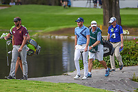 Danny Willett (GBR) shares a laugh as he crosses the bridge on 6 during round 2 of the World Golf Championships, Mexico, Club De Golf Chapultepec, Mexico City, Mexico. 2/22/2019.<br /> Picture: Golffile | Ken Murray<br /> <br /> <br /> All photo usage must carry mandatory copyright credit (&copy; Golffile | Ken Murray)
