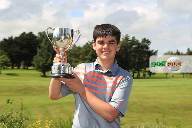 Ciaran Vaughan (Limerick) the 2016 winner of the Connacht U18 Boys Open, played at Galway Golf Club, Galway, Galway, Ireland. 07/07/2016. <br /> Picture: Thos Caffrey | Golffile<br /> <br /> All photos usage must carry mandatory copyright credit   (&copy; Golffile | Thos Caffrey)