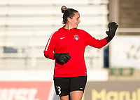Boyds, MD - Saturday September 30, 2017: Kelsey Wys during a regular season National Women's Soccer League (NWSL) match between the Washington Spirit and the Seattle Reign FC at Maureen Hendricks Field, Maryland SoccerPlex.