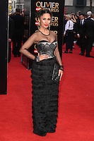 Preeya Kalidis arrives for the Olivier Awards 2015 at the Royal Opera House Covent Garden, London. 12/04/2015 Picture by: Steve Vas / Featureflash