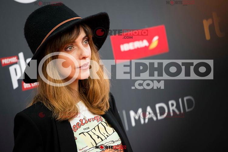 """Leticia Dolera attends to the presentation of the """"Premios Platino"""" at Palacio de Cristal in Madrid. April 07, 2017. (ALTERPHOTOS/Borja B.Hojas) (NortePhoto.com)"""