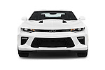 Car photography straight front view of a 2016 Chevrolet Camaro 2SS 2 Door Coupe Front View
