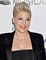 LOS ANGELES, CA - FEBRUARY 08: Pink attends MusiCares Person of the Year honoring Dolly Parton at Los Angeles Convention Center on February 8, 2019 in Los Angeles, California.<br /> CAP/ROT/TM<br /> &copy;TM/ROT/Capital Pictures