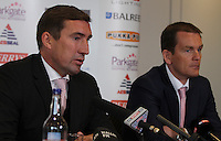 SPORT - ROTHERHAM<br /> ALAN STUBBS SIGNS AS ROTHERHAM MANAGER ALONGSIDE JOHN DOOLAN AS ASSISTANT MANAGER<br /> <br /> Mandatory Credit - Alex Roebuck / www.alexroebuck.co.uk