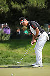 Hideki Matsuyama (JPN),<br /> June 15, 2013 - Golf :<br /> Hideki Matsuyama of Japan putts on the green at 1st hole during the third round of the U.S. Open Championship at the Merion Golf Club, East course in Haverford Township, Delaware Country, Pennsylvania. (Photo by Koji Aoki/AFLO SPORT) [0008]