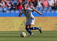 PARIS,  - JUNE 16: Ali Krieger #11 sprints forward during a game between Chile and USWNT at Parc des Princes on June 16, 2019 in Paris, France.