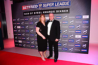 Picture by Simon Wilkinson/SWpix.com - 03/10/2017 - Rugby League BETFRED Super League Man of Steel Awards Dinner 2017 - The Steve Prescott MBE Man of Steel -