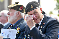 Veterans during a service at the National Memorial Arboretum in Alrewas, Staffordshire, during an event to commemorate the 75th anniversary of the D-Day landings. Photo Credit: ALPR/AdMedia