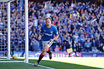 12.05.2019 Rangers v Celtic: Scott Arfield celebrates his goal