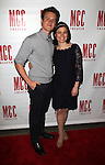 Jonathan Groff & Guest.attending the 'MISCAST 2012' MCC Theatre's Annual Musical Spectacular at The Hammerstein Ballroom in New York City on 3/26/2012. © Walter McBride / WM Photography