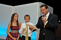 Dad's toast at the B'Nai Mitzvah