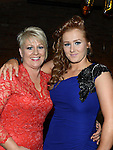 Amy O'Brien celebrating her 21st birthday in McHugh's with mother Evelyn. Photo:Colin Bell/pressphotos.ie