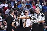 DALLAS, TX - MARCH 31: Head coach Vic Schaefer of the Mississippi State Lady Bulldogs reacts to a flagrant foul call during the 2017 Women's Final Four at American Airlines Center on March 31, 2017 in Dallas, Texas. (Photo by Justin Tafoya/NCAA Photos via Getty Images)