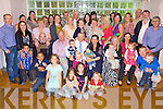 Celebrations - James & Rute O'Halloran from Ardfert, seated centre having a wonderful time with family and freinds at the Christening celebrations for their son Cormac held in The Ballyroe Heights Hotel on Sunday following the ceremony in St. Brendan's Church, Ardfert.