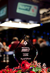 NAPT Los Angeles Bounty Shootout Trophy and TV Final Table
