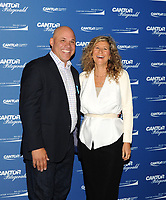 www.acepixs.com<br /> <br /> September 11 2017, New York City<br /> <br /> Baseball player Jim Leyritz and Edie Lutnick at the Annual Charity Day hosted by Cantor Fitzgerald, BGC and GFI at Cantor Fitzgerald on September 11, 2017 in New York City<br /> <br /> By Line: William Jewell/ACE Pictures<br /> <br /> <br /> ACE Pictures Inc<br /> Tel: 6467670430<br /> Email: info@acepixs.com<br /> www.acepixs.com