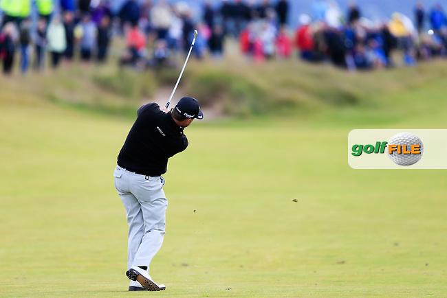 Graeme McDowell (NIR) during round 2 of the Aberdeen Asset Management Scottish Open 2016, Castle Stuart  Golf links, Inverness, Scotland. 08/07/2016.<br /> Picture Fran Caffrey / Golffile.ie<br /> <br /> All photo usage must carry mandatory copyright credit (&copy; Golffile | Fran Caffrey)