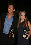 Sean McDermott & Kristen Alderson both received awards at An Intimate Evening with Broadway and Daytime Stars entertaining with songs to benefit the Jane Elissa/Charlotte Meyers Endowment Fund for Leukemia/Lymphoma Research and other charitable causes on October 20, 2008 at the New York Marriott Marquis Hotel, New York City, NY. (Photo by Sue Coflin)