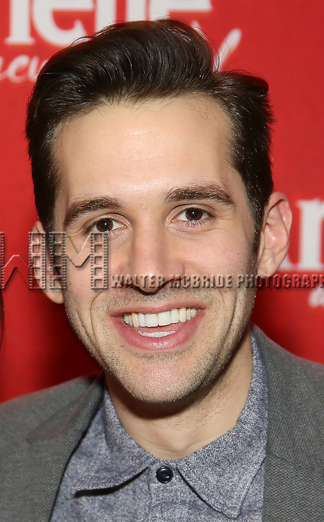 """Adam Chanler-Beret attend the """"Amelie"""" Broadway Musical Sneak Peek Concert at the Cutting Room on February 10, 2017 in New York City."""