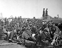 In the trenches before Petersburg.  Mathew Brady Collection. (Army)<br /> Exact Date Shot Unknown<br /> NARA FILE #:  111-B-157<br /> WAR & CONFLICT BOOK #:  145