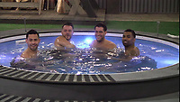 Andrew Brady, Daniel O'Reilly, Jonny Mitchell and Ginuwine.<br /> Celebrity Big Brother 2018 - Day 30<br /> *Editorial Use Only*<br /> CAP/KFS<br /> Image supplied by Capital Pictures