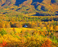 Cades Cove in Autumn, Great Smoky Mountains National Park, Appalachian Mountains, Tennessee