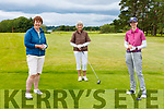 Leila Moloney Castleisland Nuala Meade and Jane Dwyer Killarney enjoying a round of golf in Killarney Golf and Fishing club on Sunday
