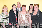SOCIAL: Having a ball at the Lee Strand Annual Social at the Brandon Hotel, Tralee, on Saturday night were, l-r: Noreen Lynch, Tracy Joy, Tom Walsh, Rose Joy, Geraldine O'Reilly and Breda Walsh (Tralee)..