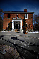 PM Trudeau addresses media outside of Rideau Cottage during his isolation. March 16, 2020.