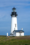 Lincoln County, OR<br /> Yaquina Head Light stands on the headlands above the Pacific coast at Yaquina Head