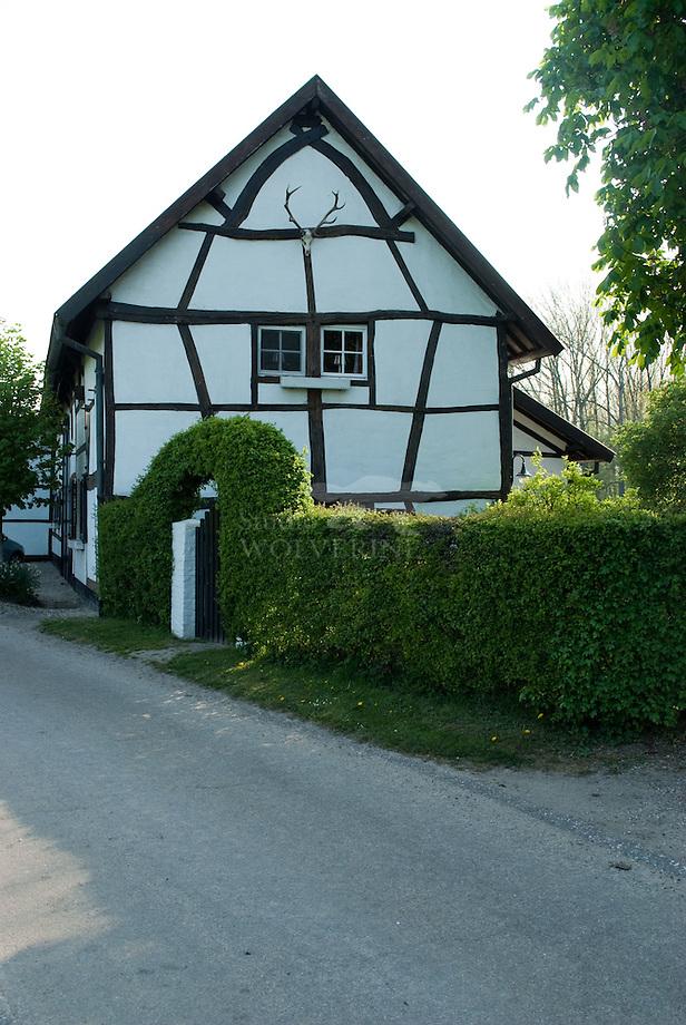 Vakwerk huis te Pesaken, Limburg