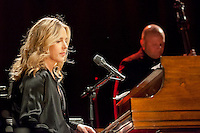 "Diana Krall performing for the ""Veranos de la villa"" at the Price Circus, Madrid."
