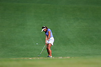 Pimnipa Panthong (THA) on the 2nd during the final round at the Augusta National Womans Amateur 2019, Augusta National, Augusta, Georgia, USA. 06/04/2019.<br /> Picture Fran Caffrey / Golffile.ie<br /> <br /> All photo usage must carry mandatory copyright credit (&copy; Golffile | Fran Caffrey)