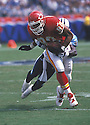 Kansas City Chiefs Tony Gonzalez (88) during a game against the Tennessee Titans on September 10, 2000 at Adelphia Coliseum in Nashville, Tennessee.  The Titans beat the Chiefs 17-14. Tony Gonzalez played for 17 years with 2 teams and was a 14-time Pro Bowler.