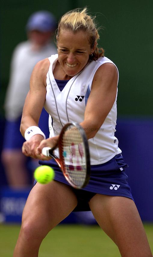 Photo: Richard Lane..DFS Classic Women's International Tennis at Edgebaston. 14/06/2003..Magdalena Maleeva.