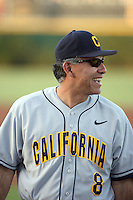 David Esquer, head coach - California Golden Bears in a series at Arizona State University, 3/26 - 3/28/2010 .Photo by:  Bill Mitchell/Four Seam Images.