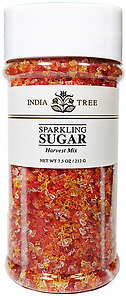 10223 Harvest Mix Sparkling Sugar, Tall Jar 7.5 oz