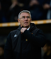 Hull City manager Nigel Adkins<br /> <br /> Photographer Chris Vaughan/CameraSport<br /> <br /> The EFL Sky Bet Championship - Hull City v Sheffield Wednesday - Saturday 12th January 2019 - KCOM Stadium - Hull<br /> <br /> World Copyright © 2019 CameraSport. All rights reserved. 43 Linden Ave. Countesthorpe. Leicester. England. LE8 5PG - Tel: +44 (0) 116 277 4147 - admin@camerasport.com - www.camerasport.com