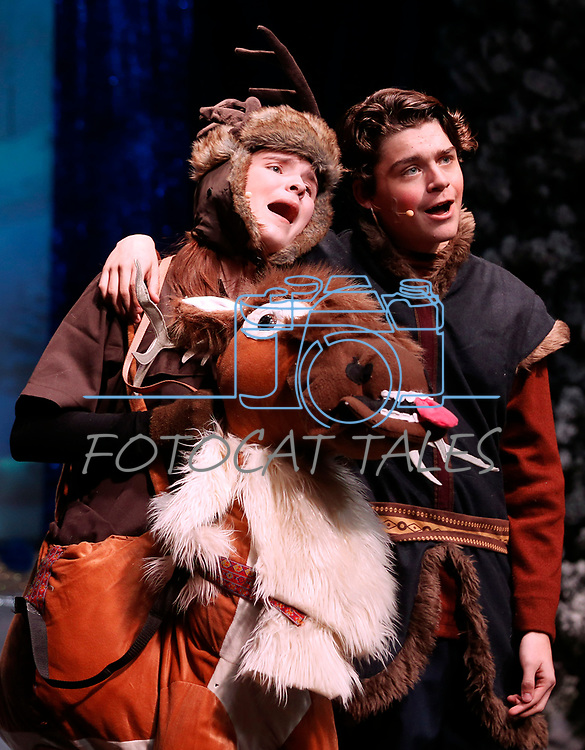 """The Wild Horse Children's Theater performs """"Frozen, Jr."""" at the Brewery Arts Center Performance Hall, in Carson City, Nev., on Thursday, Dec. 5, 2019. <br /> Photo by Cathleen Allison"""
