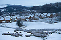 08/12/14<br /> <br /> First light over Buxton.<br /> <br /> After overnight snowfall in Debyshire dawn reveals stunning snowscapes across the Peak District.<br /> <br /> ***ANY UK EDITORIAL PRINT USE WILL ATTRACT A MINIMUM FEE OF &pound;130. THIS IS STRICTLY A MINIMUM. USUAL SPACE-RATES WILL APPLY TO IMAGES THAT WOULD NORMALLY ATTRACT A HIGHER FEE . PRICE FOR WEB USE WILL BE NEGOTIATED SEPARATELY***<br /> <br /> <br /> All Rights Reserved - F Stop Press. www.fstoppress.com. Tel: +44 (0)1335 300098