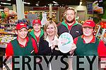 The staff from Spar Fossa with their 5 Star award l-r: Lorraine Hickey, Mags O'Shea, Bridanne Carey, Lukasz Mernas and Mary McCarthy