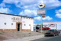 Black Cat Lounge on old Route 66 in Seligman, AZ