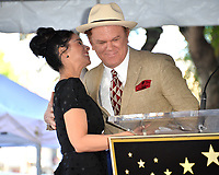 LOS ANGELES, CA. November 09, 2018: Sarah Silverman &amp; John C. Reilly at the Hollywood Walk of Fame Star Ceremony honoring comedian Sarah Silverman.<br /> Pictures: Paul Smith/Featureflash